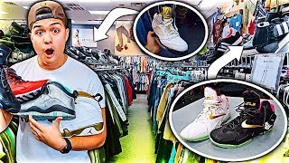 BUYING EVERY SNEAKER FROM THRIFT STORE!!