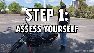 How to Pick Up a DROPPED Motorcycle THE RIGHT WAY