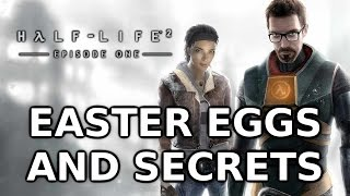 Half Life 2: Episode One Easter Eggs And Secrets HD