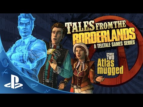 Tales from the Borderlands – Episode 2, 'Atlas Mugged' Trailer | PS4, PS3 thumbnail