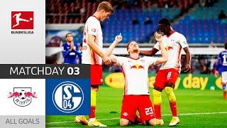 Leipzig Ranks 1st | RB Leipzig - FC Schalke 04 | 4-0 | All Goals | Matchday 3 – Bundesliga 2020/21