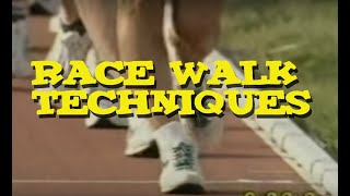 Race Walk Technique, Training, and Tutorial