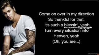 Justin bieber- desbacito lyrics