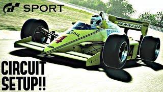 GT SPORT - F1500T-A Circuit Setup