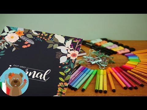 Bullet Journal Haul - Cosa serve per fare bullet journaling