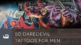 50 Daredevil Tattoos For Men