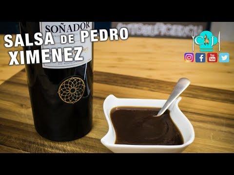 Salsa Pedro Ximenez - Recetas de Cocina