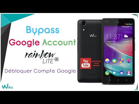 Bypass Google Account Wiko Rainbow Lite 4G Remove FRP | meziani