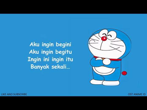 Bikin kangen   ini dia lagu pembuka doraemon jadul versi indonesia  lirik hd