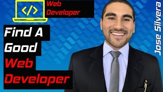 HOW TO FIND A GOOD WEB DEVELOPER IN 2020