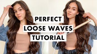 How to Curl Your Hair for Beginners | Loose Waves Tutorial