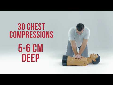 Basic life support (BLS) - YouTube