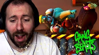 WAVE CHAMPIONS   Gang Beasts Online Funny Moments Part 37