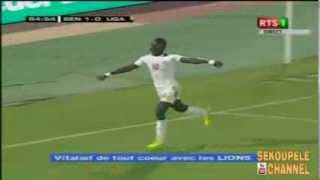But de Sadio Mané Senegal 1 vs 0 Uganda  07/09/2013