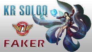 SKT T1 Faker vs Apdo - Ahri vs Orianna - KR SoloQ