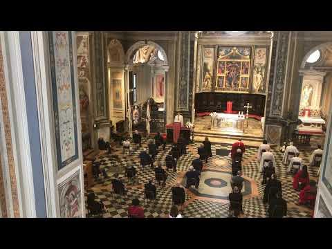 Messa del Palio, intervento del gran maestro Giuseppe La Rocca