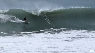 South Florida Surfing, Jensen Beach 1/7-9/2016 / Epic Surfing! Huge Waves! Action Rides [HD]