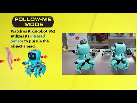 Youtube Video for KikoRobot.962 - Build An Interactive Robot