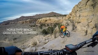 A quick lap on one of the favorites at Kokopelli Loops–Horsethief Bench.