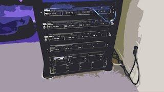 How I cool my server rack!