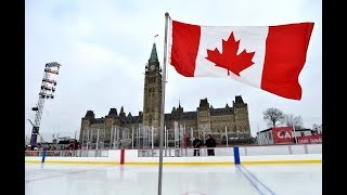 Controversial Canada 150 Rink officially opens on Parliament Hill