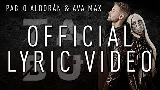 Pablo Alborán & Ava Max - Tabú (Official Lyric Video)