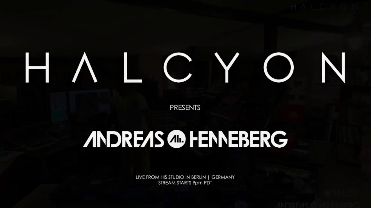 Andreas Henneberg - Live @ With Love from Berlin 8 houres Live Stream 2020