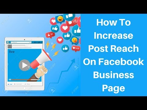 How to increase post reach on facebook business page