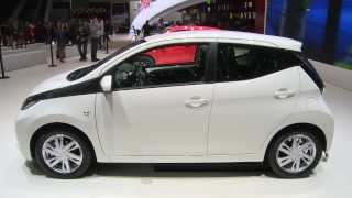 New Toyota Aygo -  2014 Geneva Show [Carscoops]