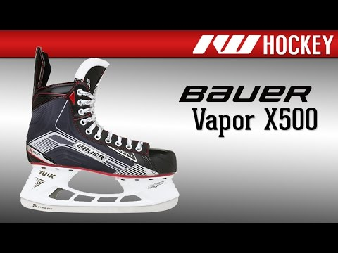 Bauer Vapor X500 Ice Hockey Skate Review