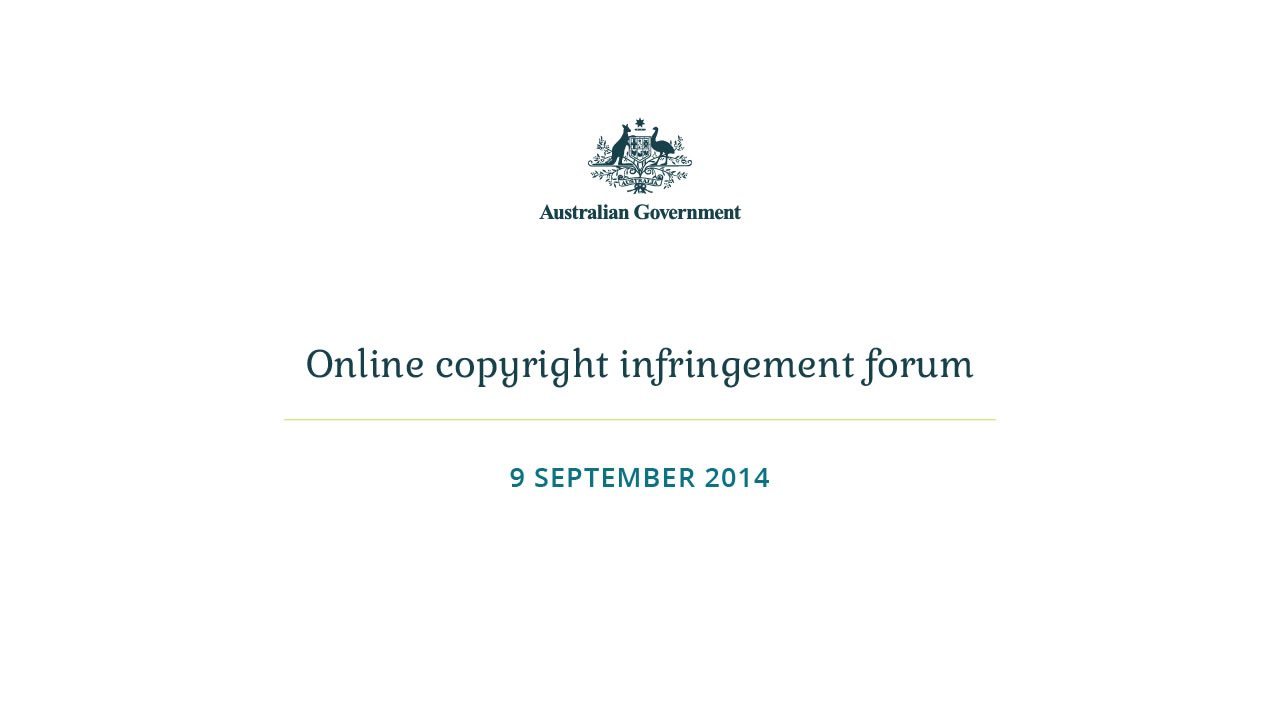 Watch Malcolm Turnbull's Anti-Piracy Forum Right Here