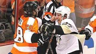 Penguins Vs Flyers Brawls Compilation