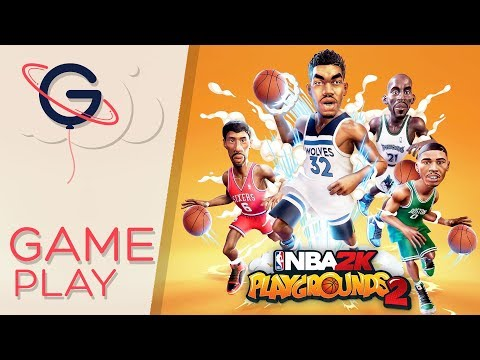 Gameplay de NBA 2K Playgrounds 2