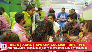 India's No.1 Spoken English Centre | IELTS | OET | PTE | ACME | Spoken English