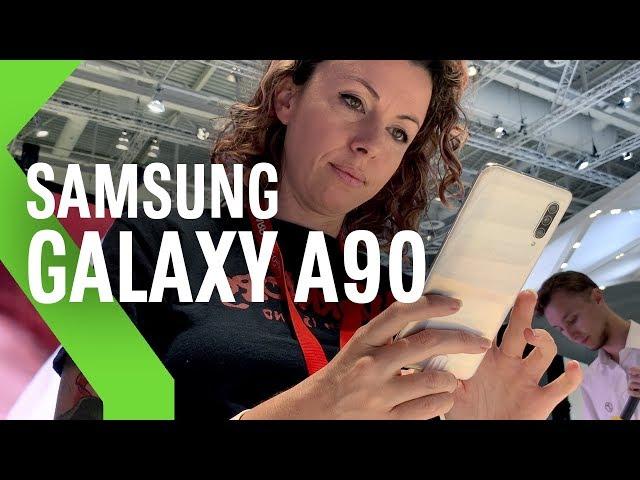 Samsung Galaxy A90 5G, primeras impresiones: el mejor (y más caro) de los Galaxy A llega con 5G