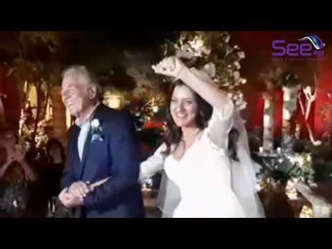 Mustafa Fahmy Dancing in Daughter's Wedding