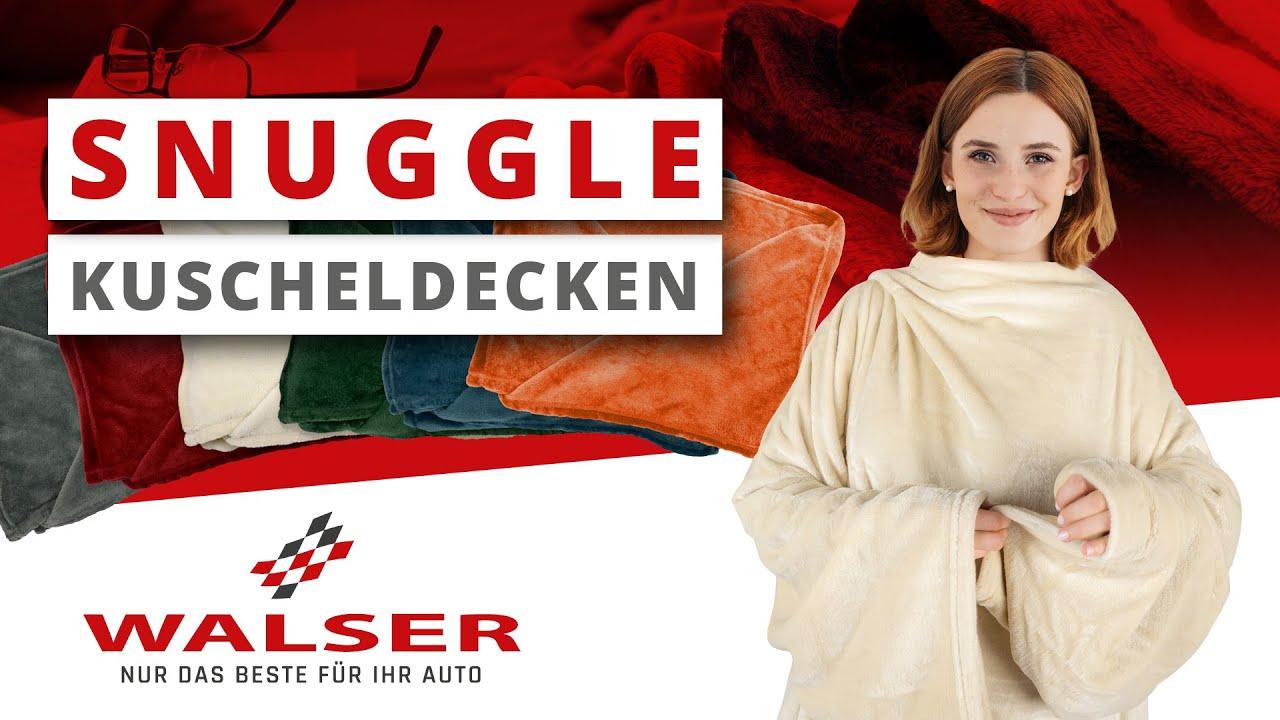 """Vorschau: Kuscheldecke """"Snuggle"""" mit Ärmeln"""