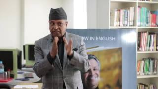 Book Talk with Binod Chaudhary