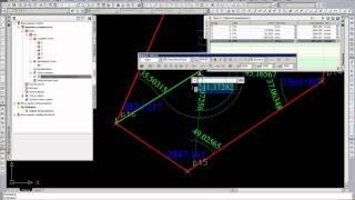 уравнивание линейно-угловой сети в AutoCAD Civil 3D