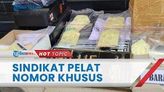 Polisi Tangkap Polisi Gadungan Sindikat Pembuat Plat Nomor Palsu, Korban Ditipu hingga Rp70 Juta