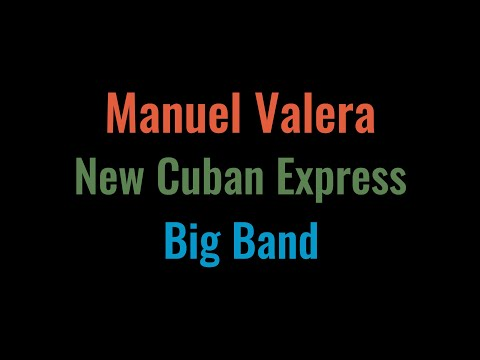 Manuel Valera New Cuban Express Big Band | José Martí En Nueva York - Album Trailer online metal music video by MANUEL VALERA