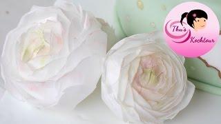 Вафельные картинки для вафельной флористики орхидея салатовая от компании Мастика - видео