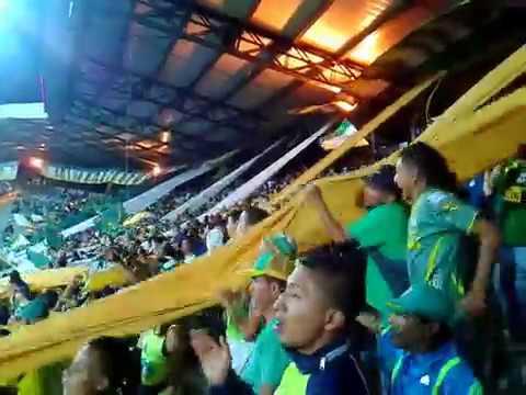"""""""ASI ES ARTILLERIA VERDE SUR"""" Barra: Artillería Verde Sur • Club: Deportes Quindío"""