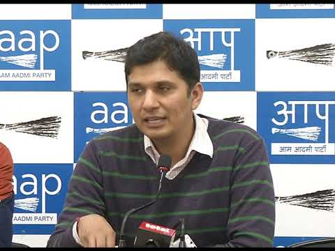 Aap Press Brief by Chief Spokesperson on Sealing Issue