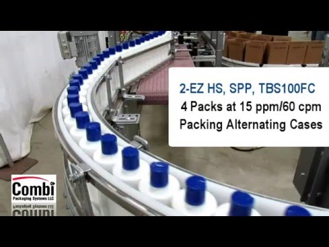 2 EZ HS SPP Packing Shampoo Bottles in Alternating Cases