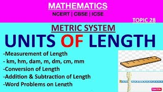 Measurement Of LENGTH| METRIC SYSTEM [Unit Conversion](Word Problems/Add/Sub OF Length)[1-12]