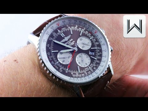 Breitling Navitimer 1 BROWN/BRONZE B03 Chronograph Rattrapante AB031021/Q615 Luxury Watch Review