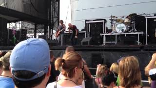 Daughtry-Outta My Head @ Rock Allegiance Hershey Park 2012