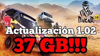 Dakar 18 - Llegó la Mega actualización 1.02   37 Gb , la actualización más grande del desierto   PS4