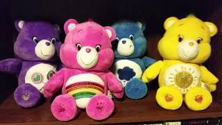 Care Bears Sing Along Plush Toys - If Your Happy and You Know it
